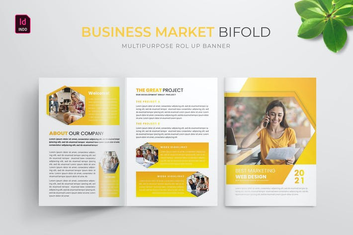 Thumbnail for Marketing d'entreprise | Brochure Bifold