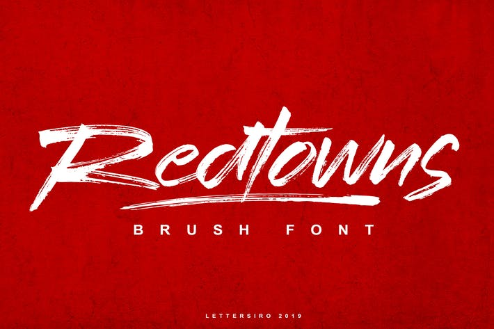 Thumbnail for Redtown Font