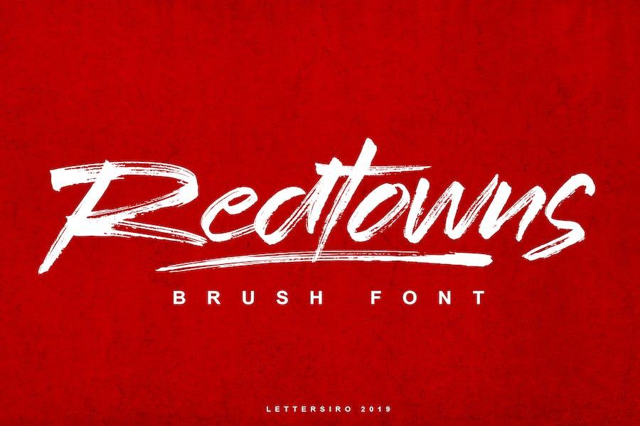 Redtown Font