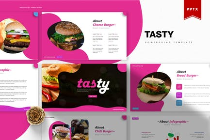 Tasty   Powerpoint Template