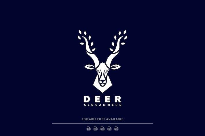 Deer Silhouette Logo