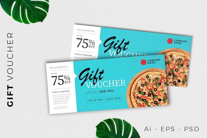 Thumbnail for Geschenkgutschein Karte Promotion