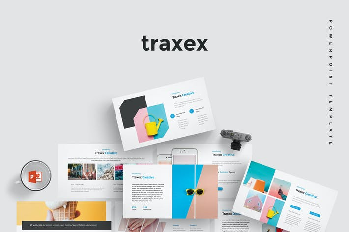 Thumbnail for Traxex -  Powerpoint Template