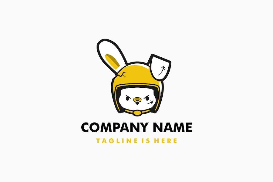 Rabbit Helmet Logo