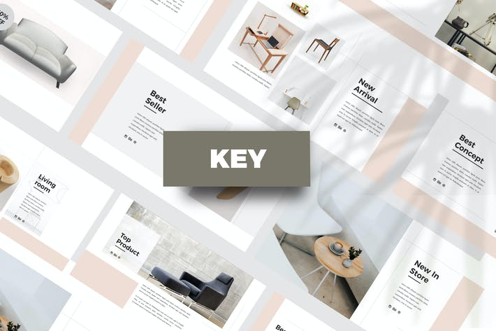 Thumbnail for Cloude - Keynote Template
