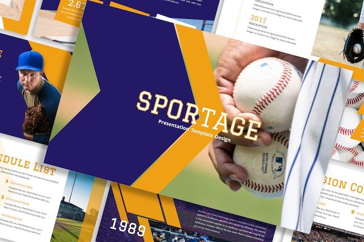Sportage - Sports Template Prensentation