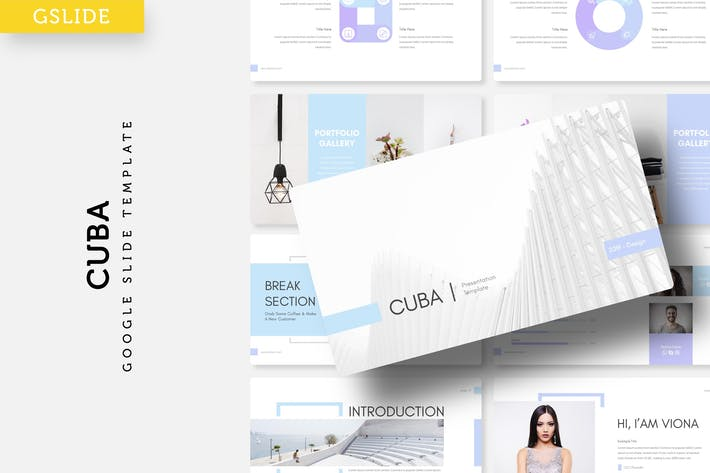 Thumbnail for Cuba - Google Slide Template