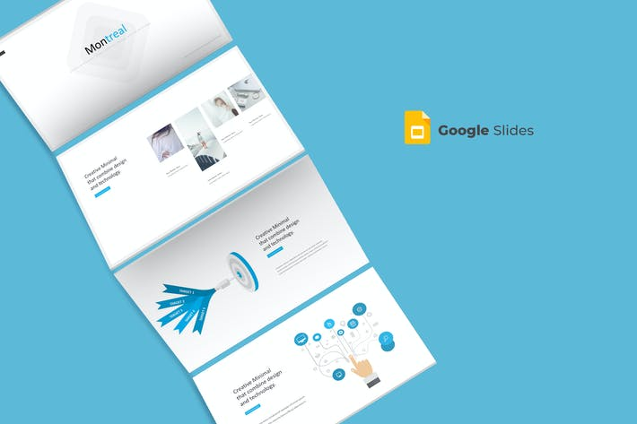 Thumbnail for Montreal - Google Slides Template