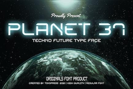 Planet 37 - Police techno futuriste
