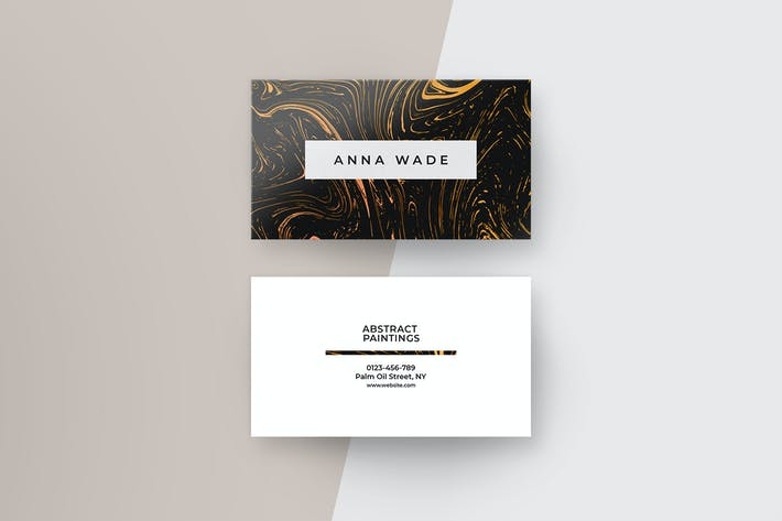 Thumbnail for Abstract Business Cards I