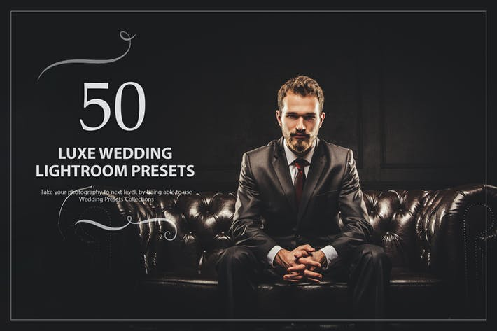 Thumbnail for 50 Luxe Wedding Lightroom Presets