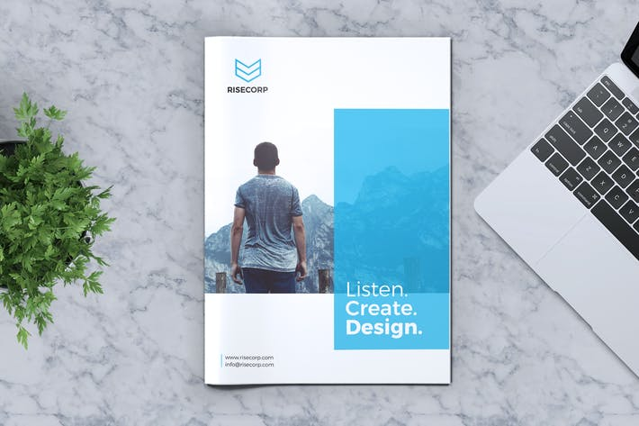 Thumbnail for Creative Brochure Template Vol. 15