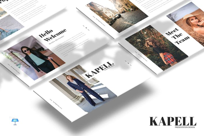 Cover Image For Kapell - Keynote Template