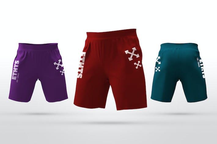 Thumbnail for Athletic Shorts Mockups