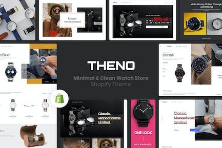 THENO | Minimal & Clean Watch Store Shopify Theme