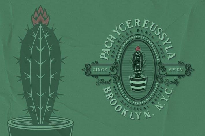 Kaktus - Pflanzenwappen