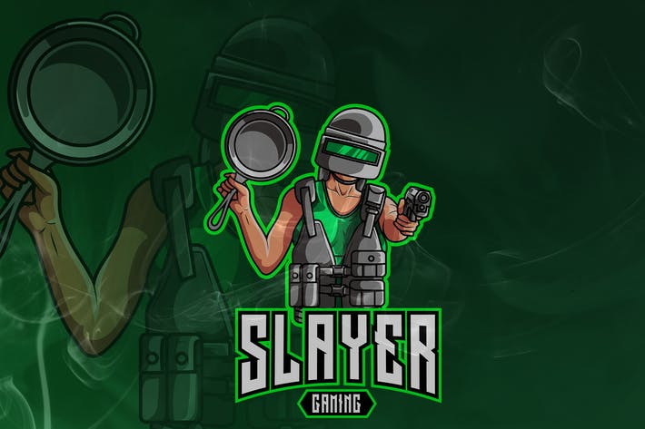 Thumbnail for Slayer Gaming - Military Mascot & Esport Logo V.15