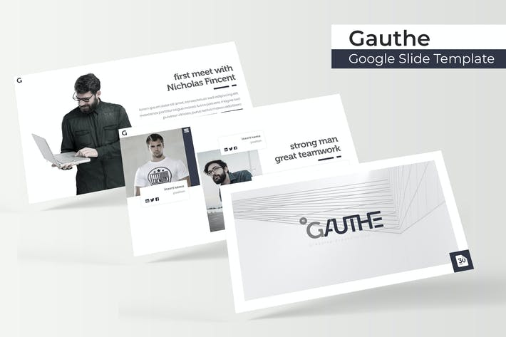 Thumbnail for Gauthe - Google Slide Template