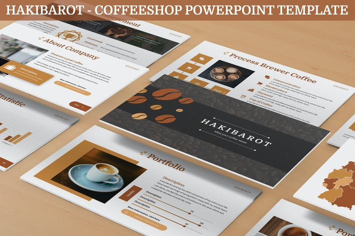 Thumbnail for Hakibarot - Coffeeshop Powerpoint Template