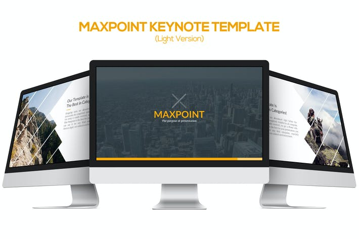 Thumbnail for Maxpoint Keynote Template