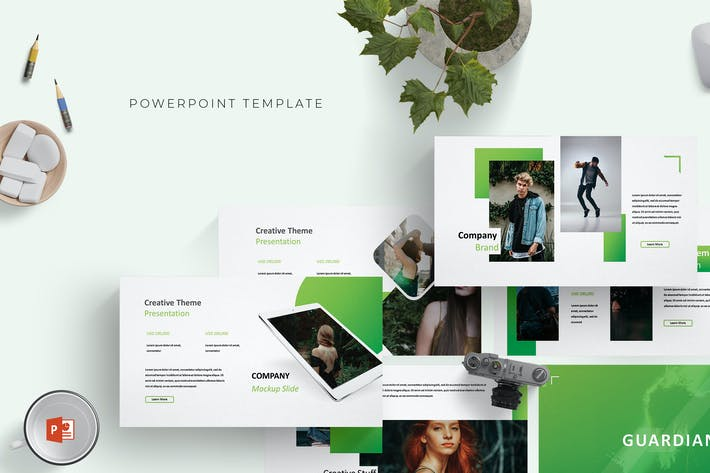 Cover Image For Guardian -  Powerpoint Template