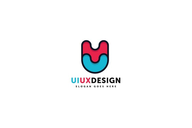 Ui Ux Design Logo Template