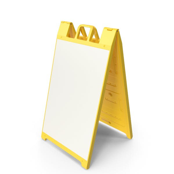 Thumbnail for Sandwich Board Yellow
