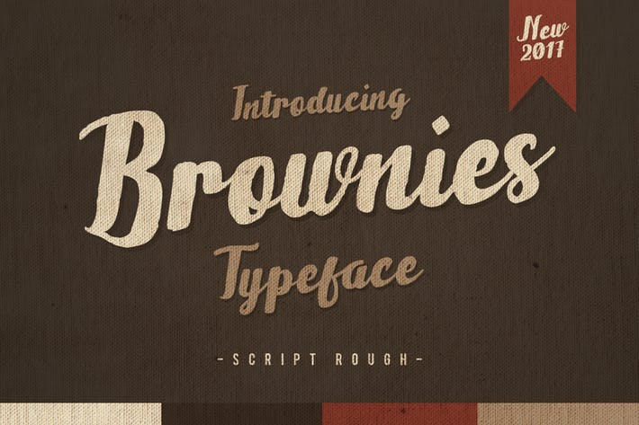 Thumbnail for Brownies Typeface