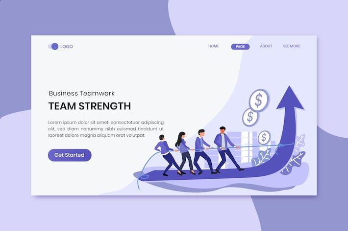 Team Strength Marketing Landing Page