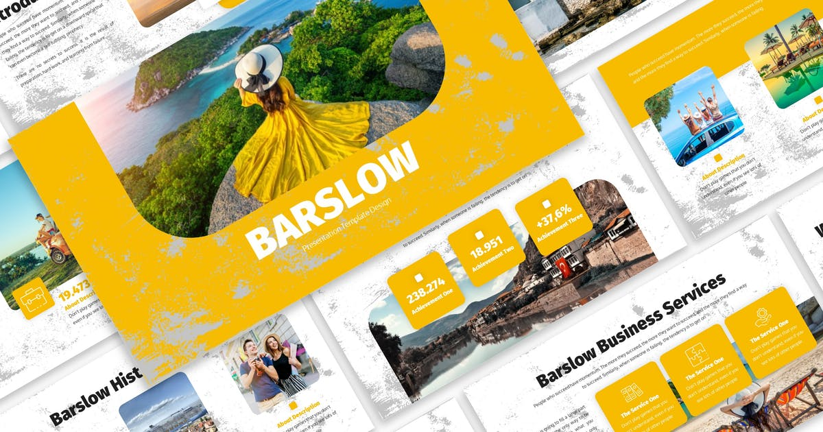 Barslow - Business Template Prensentation by Blesstudio