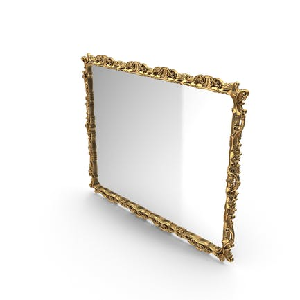 Baroque Mirror Golden
