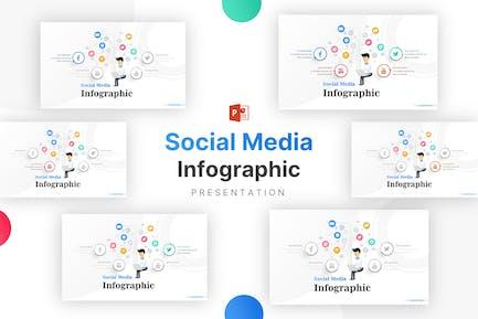 Инфографика для социальных сетей и технологий
