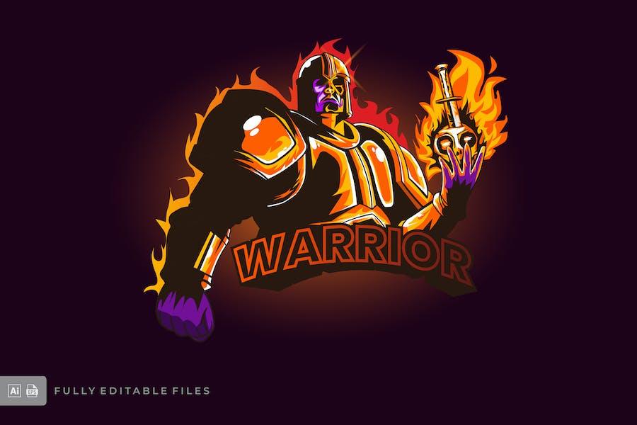 Warrior Esports Logo