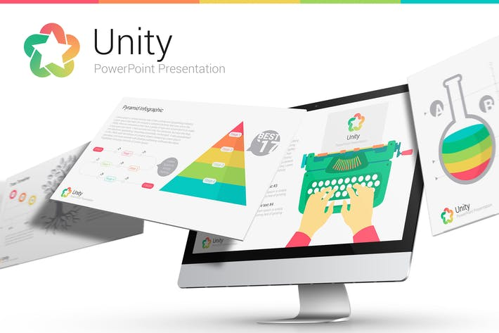 Cover Image For Unity - Multipurpose Template