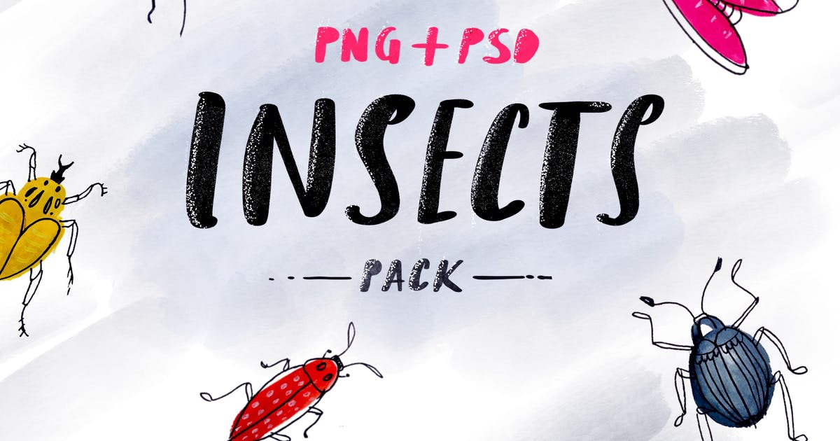 Download Insects - Sketched Pack by cerpow