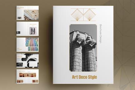 Brochure Art Déco