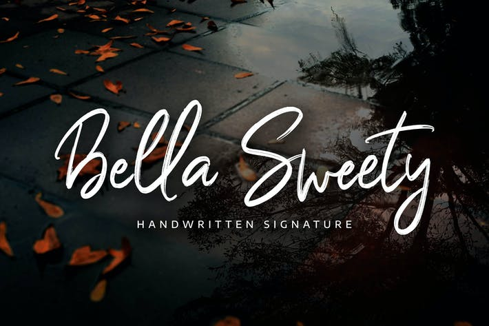 Cover Image For Bella Sweety - Handwritten Signature