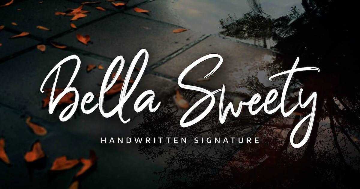Download Bella Sweety - Handwritten Signature by Alterzone