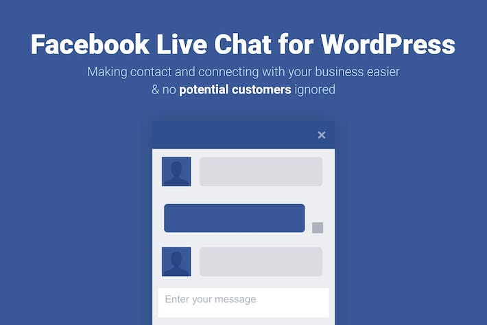 Thumbnail for Facebook Live Chat for WordPress