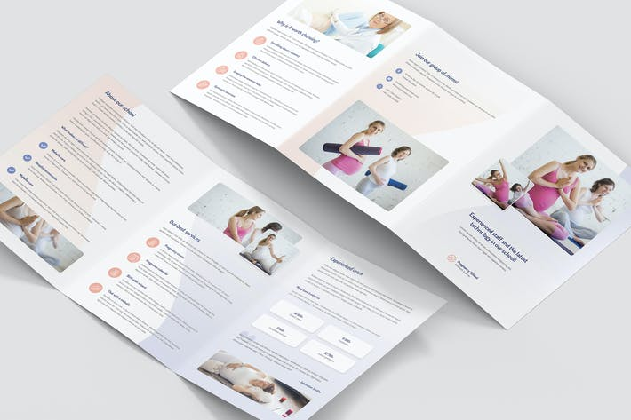 Thumbnail for Brochure – Pregnancy School Tri-Fold A5