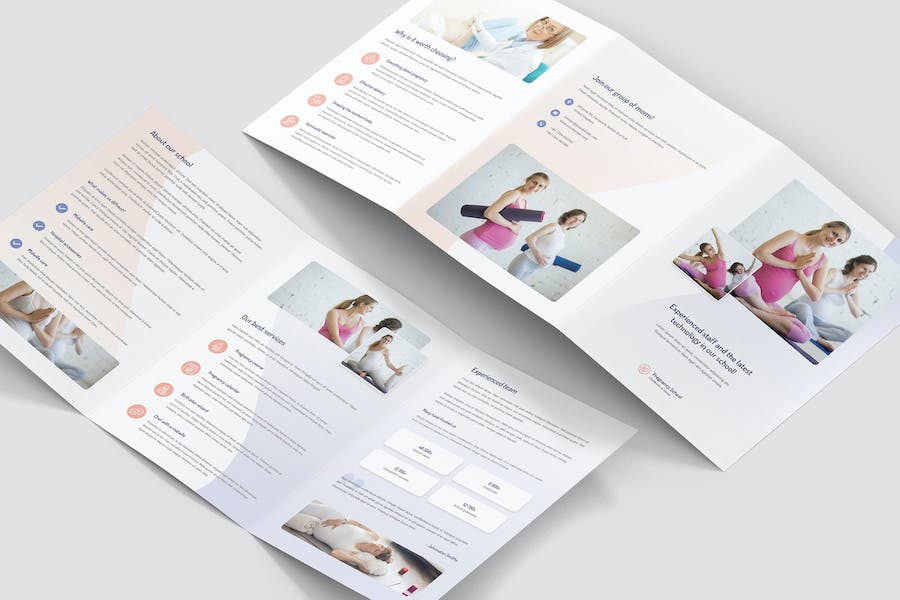 Brochure – Pregnancy School Tri-Fold A5