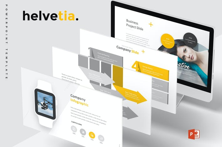 Thumbnail for Helvetia - Powerpoint Template