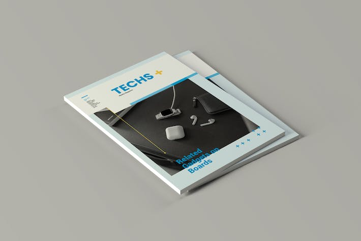 Thumbnail for Techplus - Magazine Template