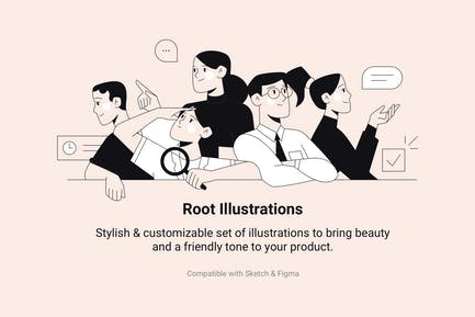 Root Illustrations