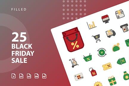 Black Friday Sale Filled