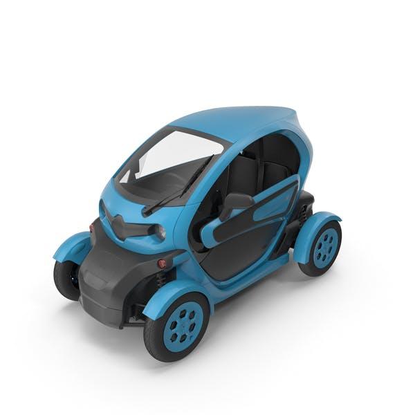 Car Blue
