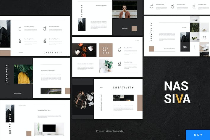 Cover Image For Nassiva - Creative Keynote Template