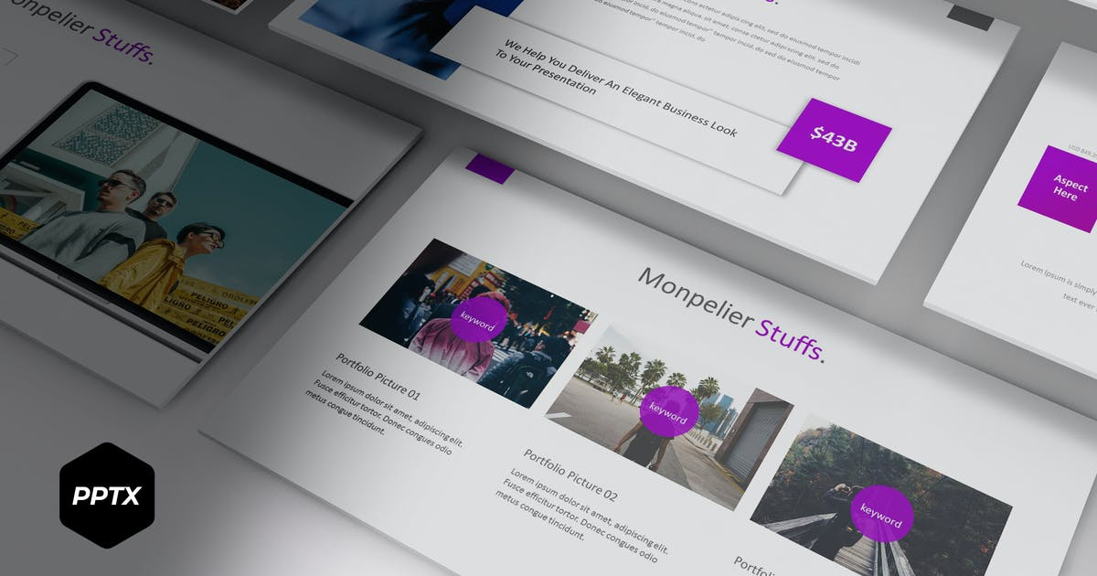 Download Monpelier - Powerpoint Template by aqrstudio