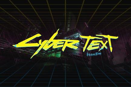 CyberPunk Text Effect