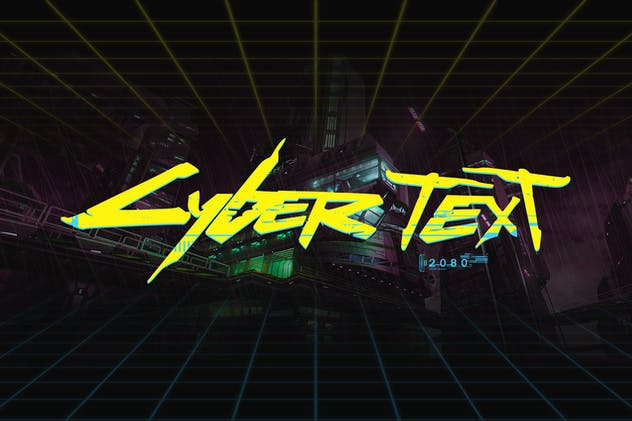 CyberPunk Text Effect